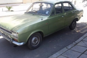 ESCORT MK1 GT 4 DOOR - 1 OWNER FROM NEW